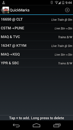 Indian Train Status 6.85 screenshot 107413