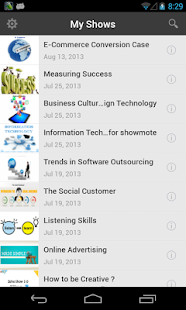 Zoho ShowMote - screenshot thumbnail