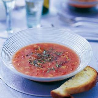 Summer Vegetable Gazpacho
