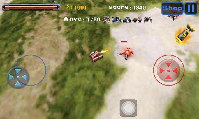 Tank World War 3D screenshot