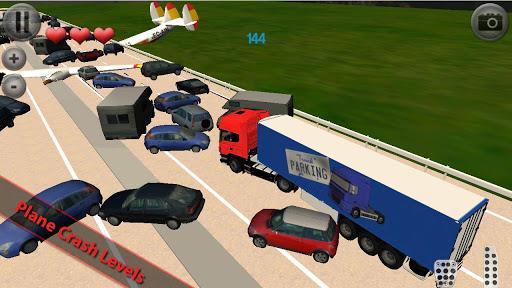 欧元卡车停车场