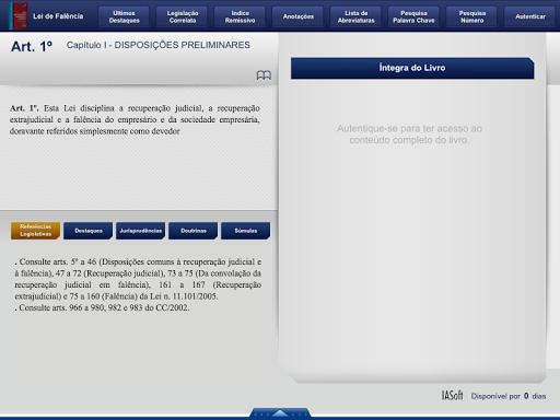 Lei de Falu00eancia 2014 Tablet 1.3.0 screenshots 2