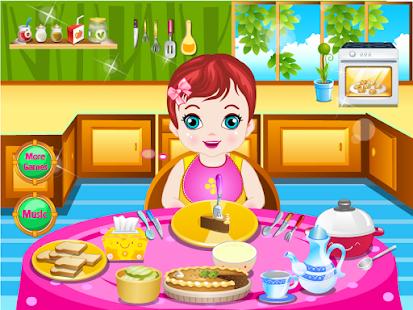 嬰兒遊戲丹尼餵養 休閒 App-愛順發玩APP