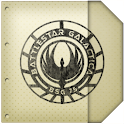 BSG Notebook GO Launcher Theme logo