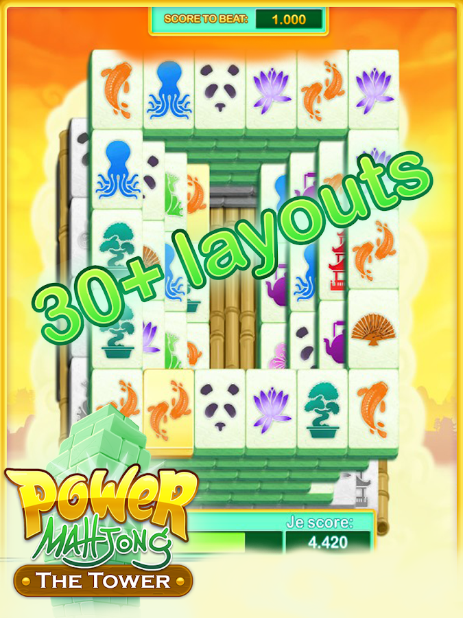 Power Mahjong The Tower Deluxe Android Apps On Google Play