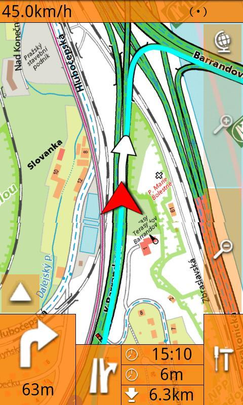 SmartMaps: GPS Navigation&Maps- screenshot