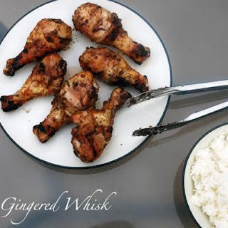 Grilled Chicken with Fresh Grape Glaze