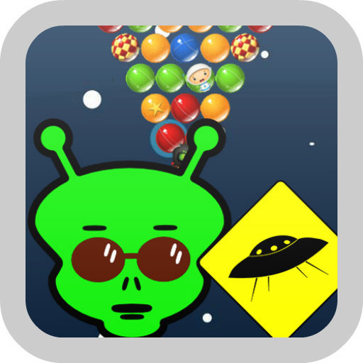 Space Alien Bubble Shooter LOGO-APP點子