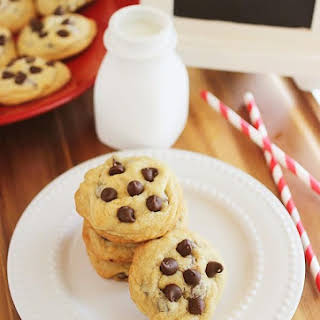 Best-Ever Soft, Chewy Chocolate Chip Cookies.