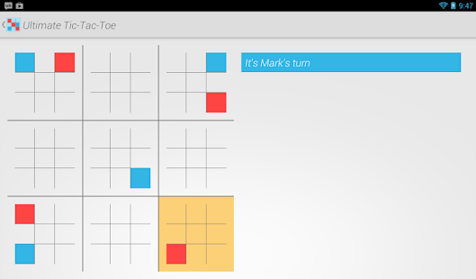 Ultimate Tic Tac Toe Online - screenshot thumbnail