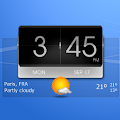 3D Flip Clock Theme Pack 03 APK for Bluestacks
