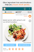 Screenshot of Real Simple No Time to Cook?