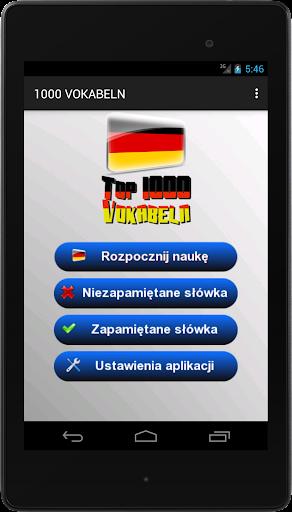 【免費教育App】Niemiecki - 1000 słów-APP點子