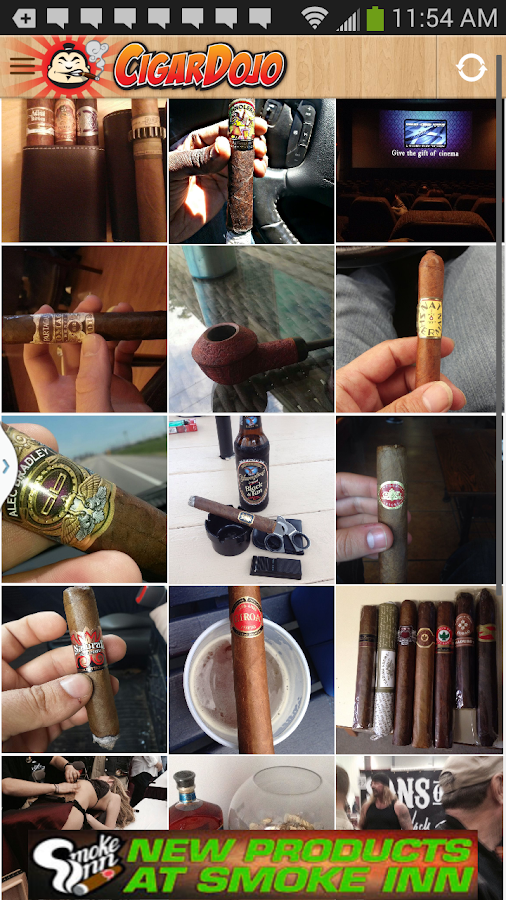 CigarDojo the social cigar app- screenshot