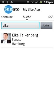 My Site App- screenshot thumbnail