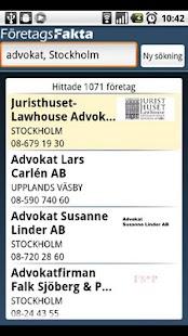 FöretagsFakta - screenshot thumbnail