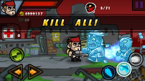 Zombie Terminator Beta - screenshot thumbnail