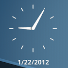 Clean Clock Widget icon