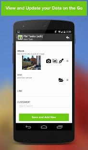 TrackVia - náhled