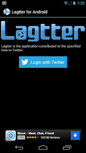 Lagtter for Android- screenshot thumbnail