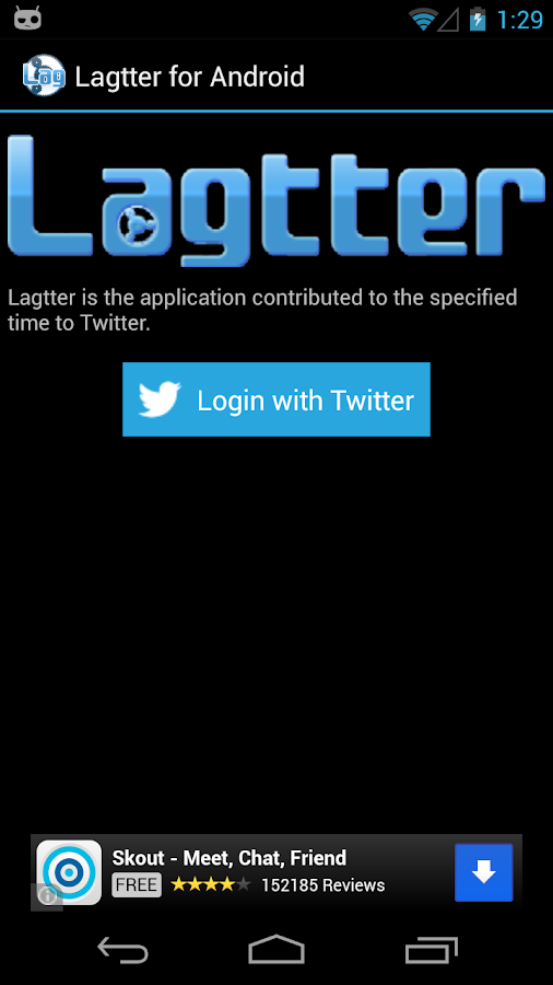 Lagtter for Android- screenshot