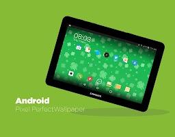 Screenshot of Androids! Live Wallpaper