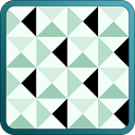 Mosaic Triangle Tiles Pattern icon