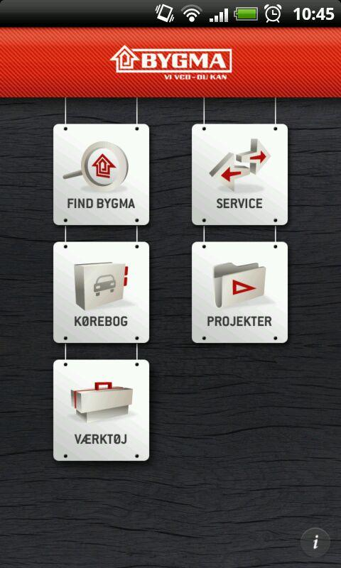 BYGMA PROFF- screenshot