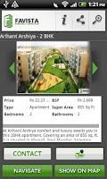 Screenshot of Property Search India- Favista