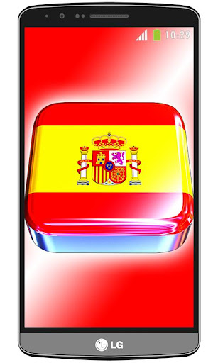 Spain flag live wallpaper