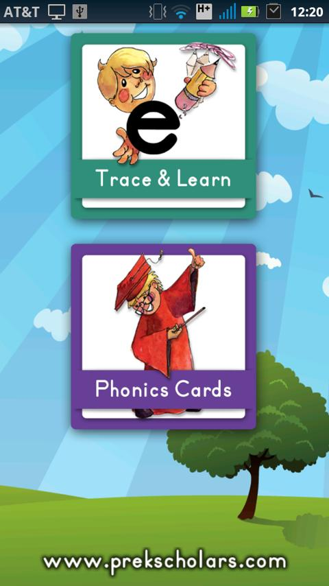 Phonics Trace & Learn - screenshot