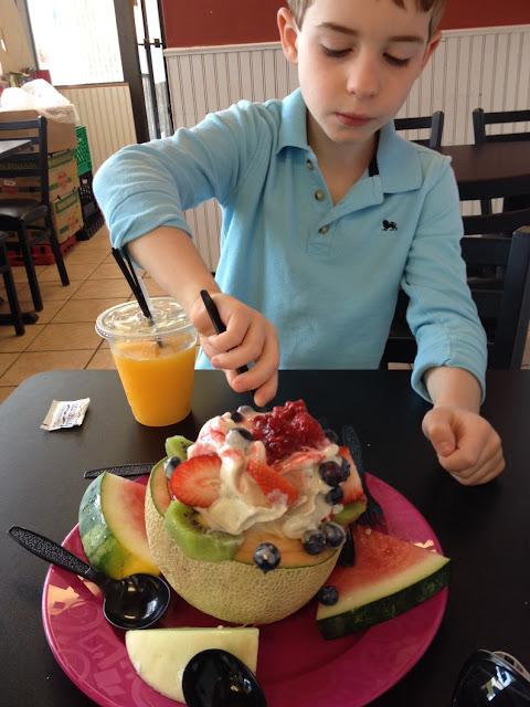 Wonderful GF Mother's Day breakfast!