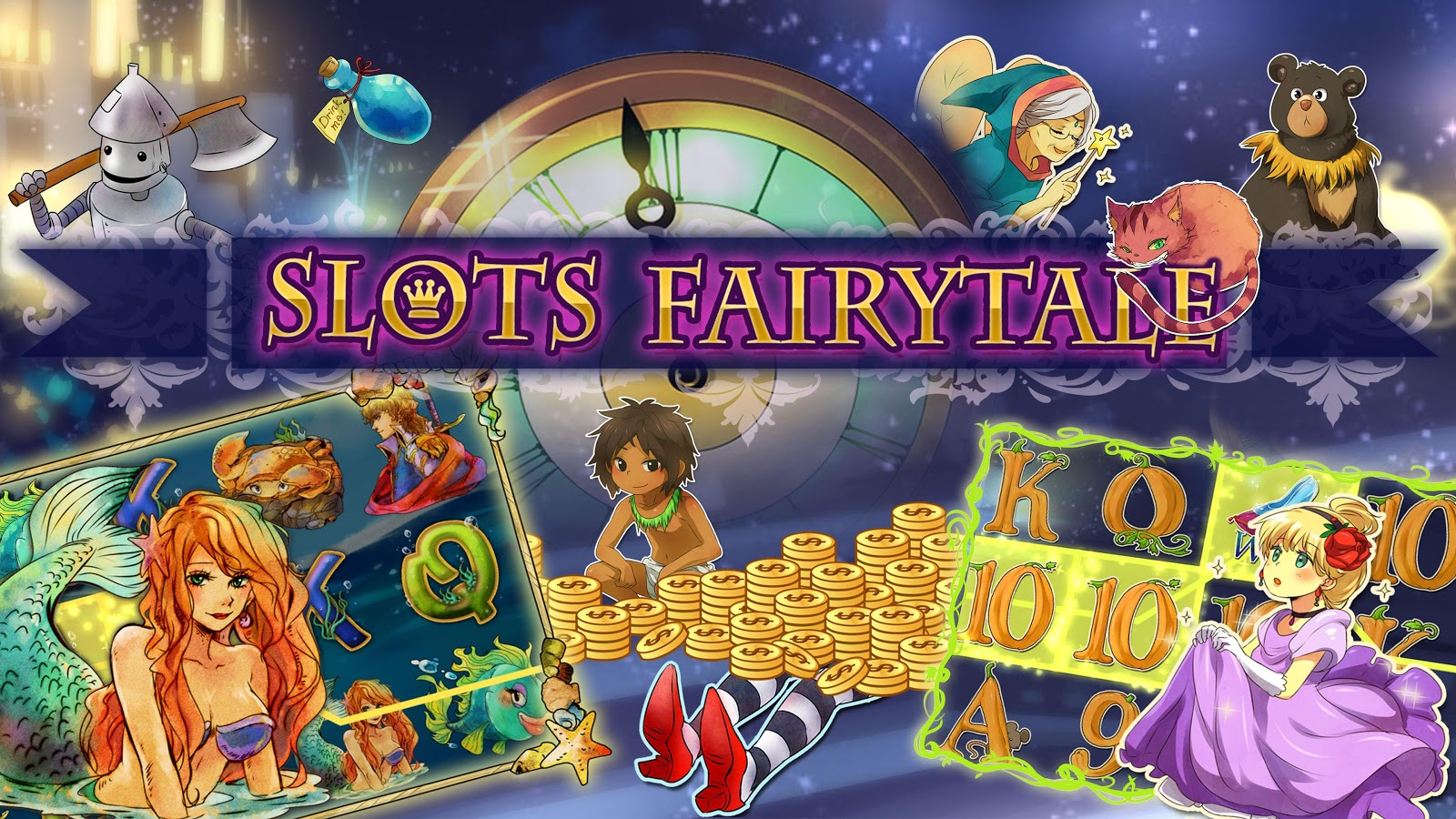 play free casino games online for free fairy tale online