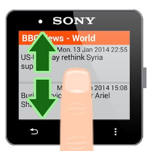 RSS for SmartWatch 2- screenshot thumbnail