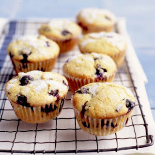 Double Blueberry Muffins.