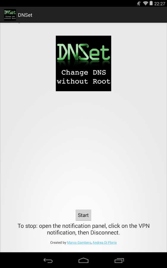 DNSet- screenshot
