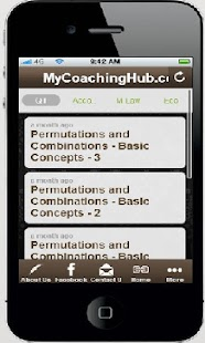 MyCoachingHub - CA CPT - screenshot thumbnail