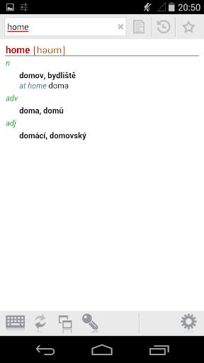 English-Czech Dictionary