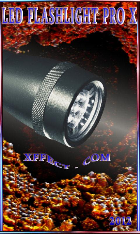 Led Flashlight Pro X- screenshot