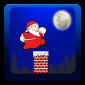 Santa Roof Run