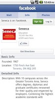 Screenshot of SenecaMobile