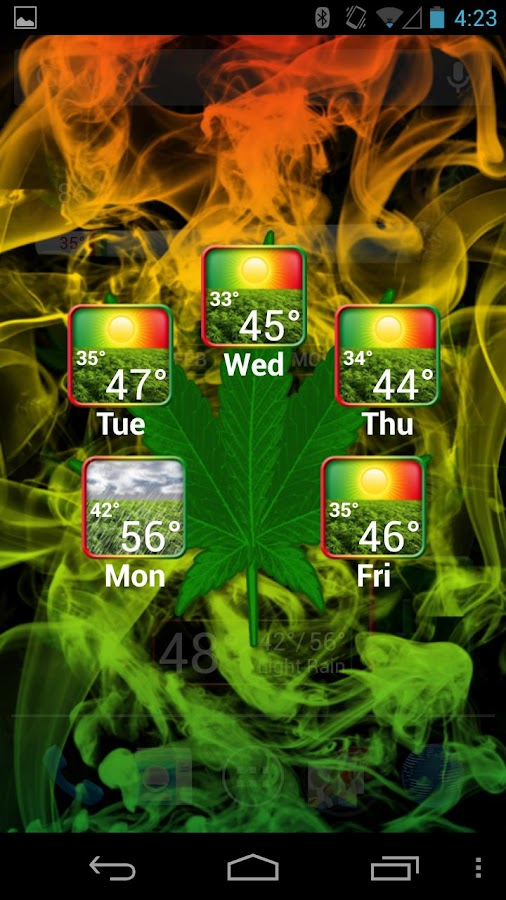 Weed Widget Pack Pro- screenshot