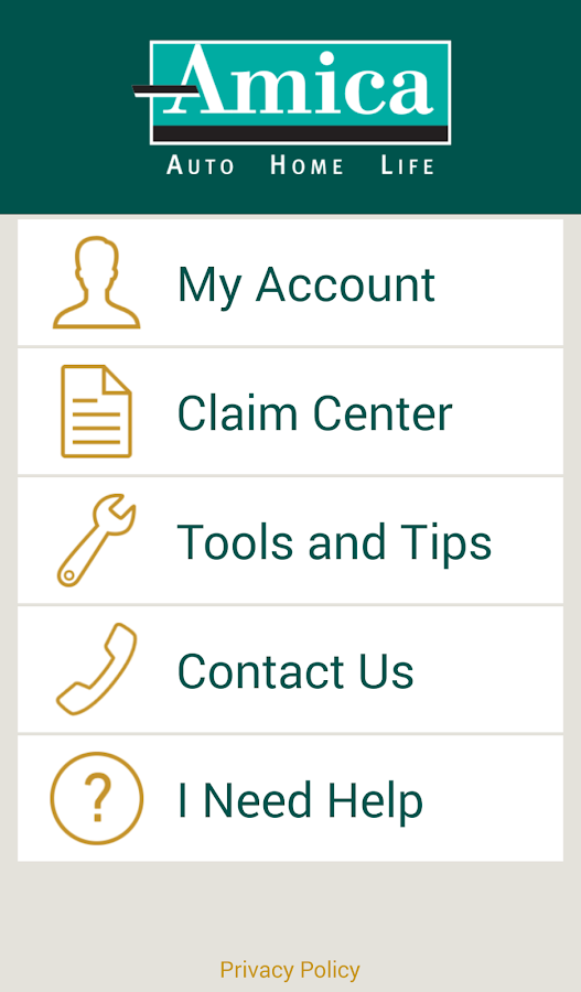 Amica android apps on google play for Is amica insurance good