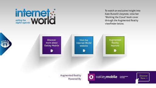 Internet World AR Keynote 2013