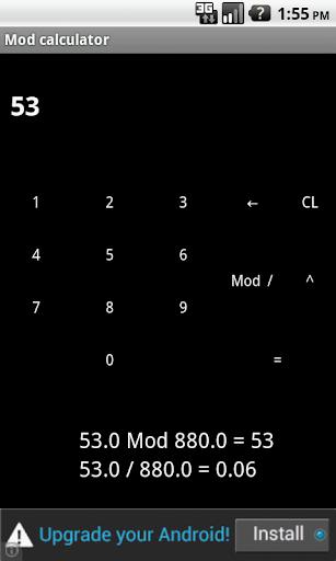 Mod Calculator