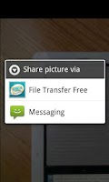 Screenshot of Email Large File