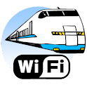 Wireless LAN Wi-Fi Train Alarm logo