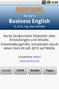 My Way To Business English - screenshot thumbnail