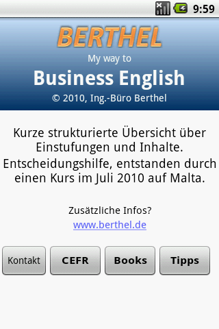 My Way To Business English - screenshot