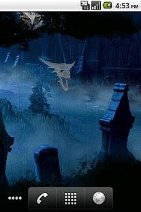 Ghost Halloween Cemetery Live Wallpaper- screenshot thumbnail